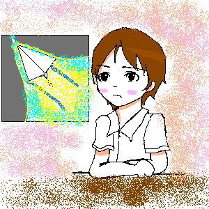 空 ヒコーキ あの て わっ くもり 紙